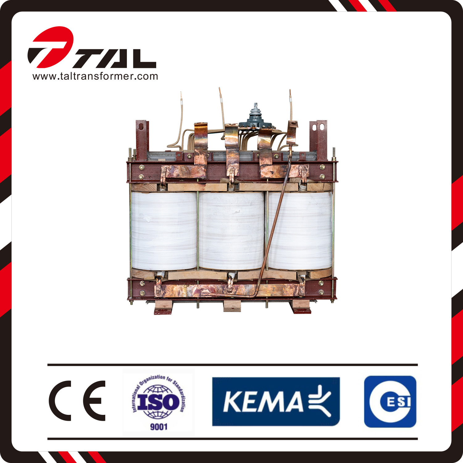 Environmental protection dry type transformers