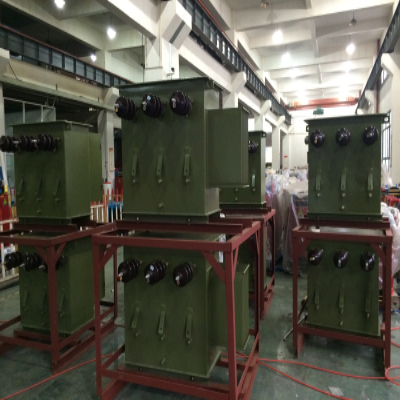 South Africa Oil-immersed Transformer is delivered successfuly on site and runs well