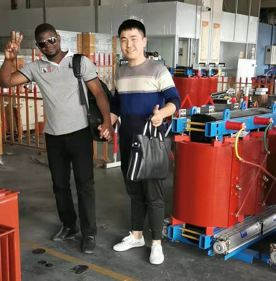 Africa Customer Visit to Our Factory